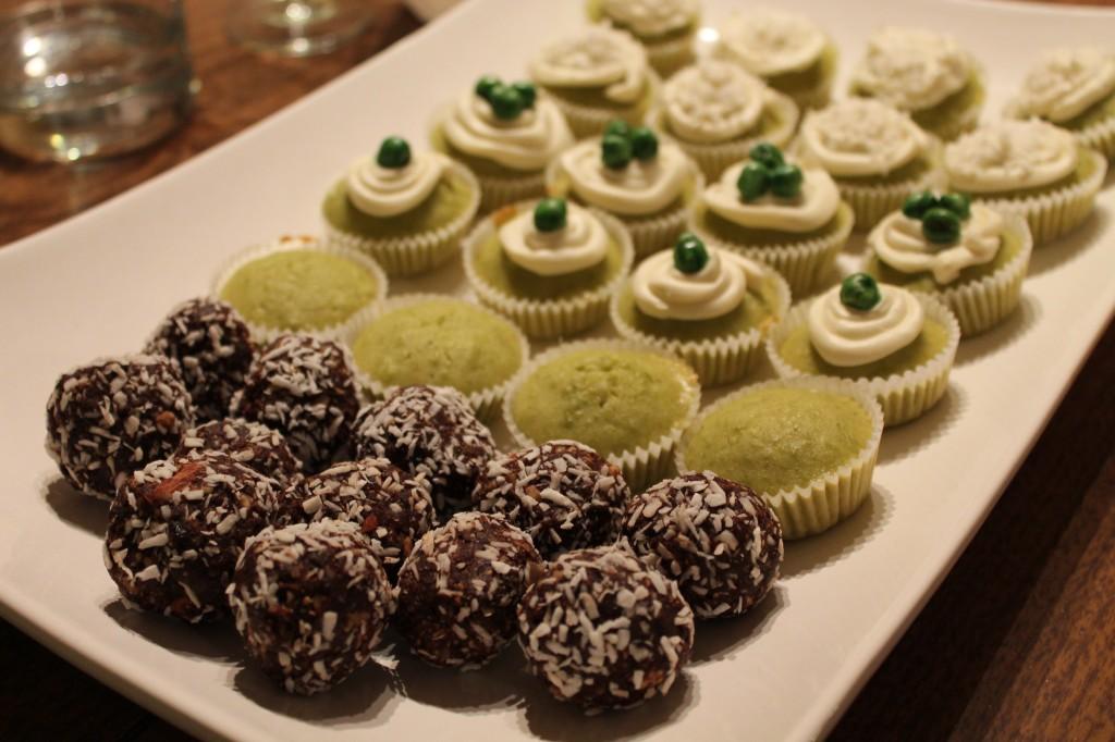 Green Pea Cupcakes
