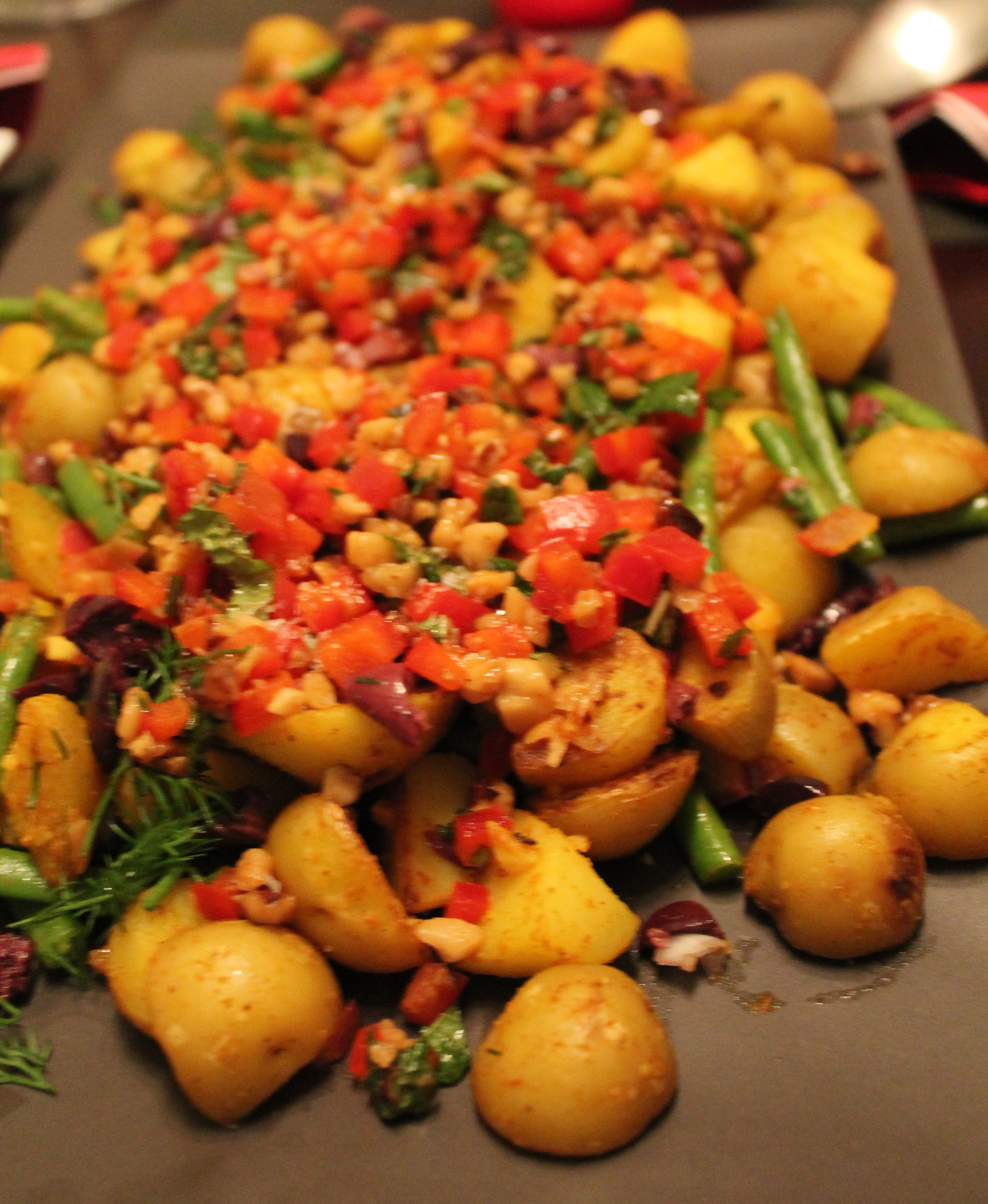 Moroccan Potatoes